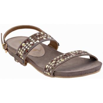Schuhe Damen Sandalen / Sandaletten F. Milano 154TBoltssandale Grau