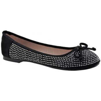 Schuhe Damen Ballerinas F. Milano Strass ballet ballerinas