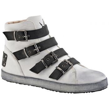 Schuhe Damen Sneaker High F. Milano 4 Trendy Leger Schnallen sportstiefel