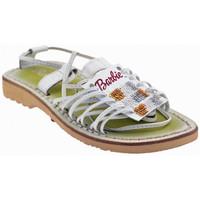 Schuhe Kinder Sandalen / Sandaletten Barbie IXAS sandale Weiss