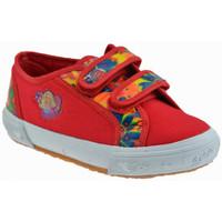 Schuhe Kinder Sneaker Low Barbie Rumba turnschuhe Rot