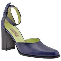 Schuhe Damen Sandalen / Sandaletten Olga Gigli StrapHeel90sandale Blau