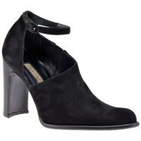 Schuhe Damen Sandalen / Sandaletten Olga Gigli StrapHeel90sandale Schwarz