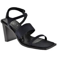 Schuhe Damen Sandalen / Sandaletten Nci 3KlettverschlüssenHeel80sandale Schwarz