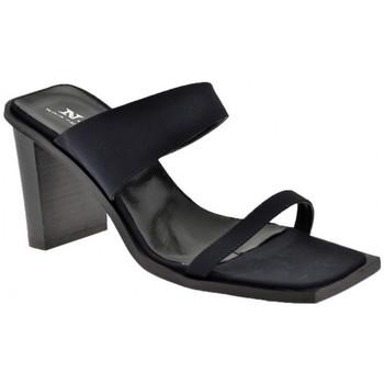 Schuhe Damen Sandalen / Sandaletten Nci BandsHeel280sandale Schwarz