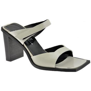 Schuhe Damen Sandalen / Sandaletten Nci 2KlettbänderHeel80sandale Beige