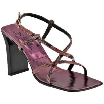 Schuhe Damen Sandalen / Sandaletten Nci GekreuzteReptileHeel90sandale Rose