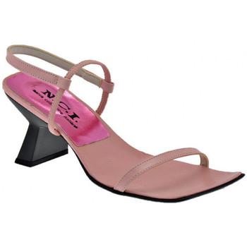 Schuhe Damen Sandalen / Sandaletten Nci Collo Elastico flip flop zehentrenner Rose