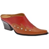 Schuhe Damen Pantoletten / Clogs Nci TexanHeel70sabot Rot