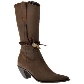 Schuhe Damen Low Boots Nci Texan Heel 70 halbstiefel