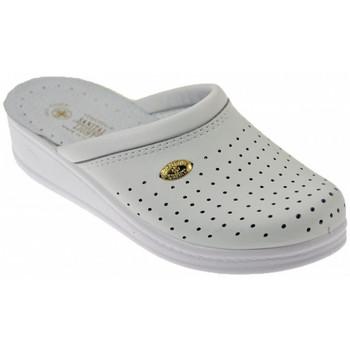 Schuhe Damen Pantoletten / Clogs Sanital Anatomische Licht W orthopaedische Weiss