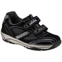 Schuhe Kinder Sneaker Low Swissies Asien turnschuhe Schwarz