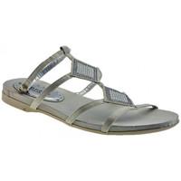 Schuhe Damen Sandalen / Sandaletten Chedivé Sandalensandale Weiss