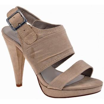 Schuhe Damen Sandalen / Sandaletten Chedivé BandedHeel110Dive&Co.sandale Beige
