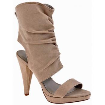 Schuhe Damen Sandalen / Sandaletten Chedivé HeelKalb110Dive&Co.sandale Beige