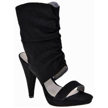 Schuhe Damen Sandalen / Sandaletten Chedivé HeelKalb110Dive&Co.sandale Schwarz