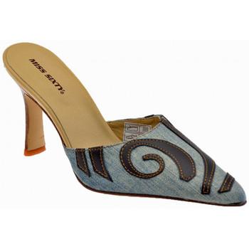 Schuhe Damen Pantoletten / Clogs Miss Sixty Heel80Etnicalsabot Blau