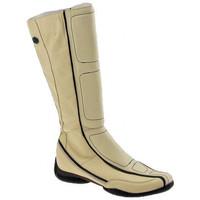 Schuhe Damen Klassische Stiefel Janet&Janet 2865Toystiefel Beige