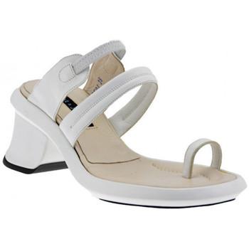 Schuhe Damen Sandalen / Sandaletten Janet&Janet Heel Flip Flops 50 flip flop zehentrenner Weiss