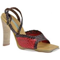 Schuhe Damen Sandalen / Sandaletten Janet&Janet Geflochtene Heel 90 sandale Rot