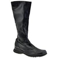 Schuhe Damen Klassische Stiefel Janet&Janet 6351 Pank stiefel Schwarz