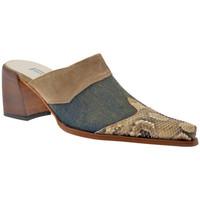 Schuhe Damen Pantoletten / Clogs Janet&Janet Sabo Texan Heel 60 sabot