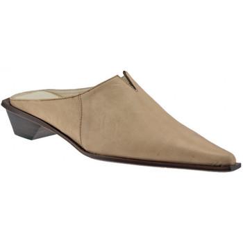 Schuhe Damen Pantoletten / Clogs Janet&Janet SaboTexanHeel30sabot Beige