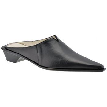 Schuhe Damen Pantoletten / Clogs Janet&Janet Sabo Texan Heel 30 sabot Schwarz