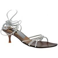 Schuhe Damen Sandalen / Sandaletten Janet&Janet Stöckelabsatz sandale Weiss