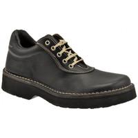 Schuhe Herren Derby-Schuhe Docks 25100 bergschuhe Schwarz