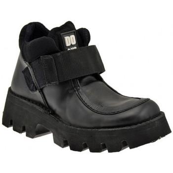Schuhe Damen Boots Docks 22300D Lässige Platform bergschuhe Schwarz