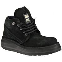 Schuhe Damen Boots Docks 22300DC Lässige Platform bergschuhe Schwarz
