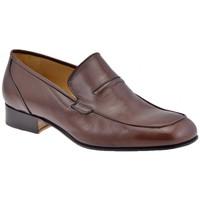 Schuhe Herren Slipper Lancio Sewing mokassin halbschuhe