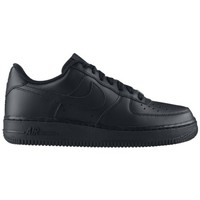 Schuhe Kinder Sneaker Low Nike AIR FORCE LOW GS NOIR