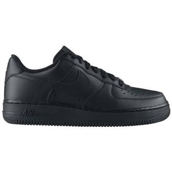 Schuhe Kinder Sneaker Low Nike AIR FORCE LOW GS NOIR