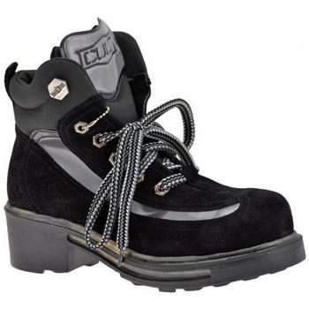 Schuhe Damen Wanderschuhe Cult Kugelbergschuhe Schwarz