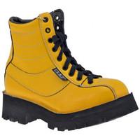 Schuhe Damen Boots Cult Kleiderbügelbergschuhe Gelb
