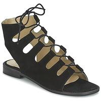 Schuhe Damen Sandalen / Sandaletten Betty London EBITUNE Schwarz