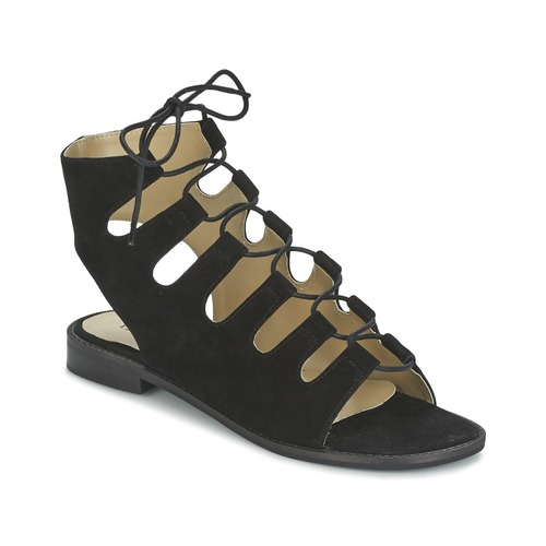 Betty London EBITUNE Schwarz  Schuhe Sandalen / Sandaletten Damen 43,99