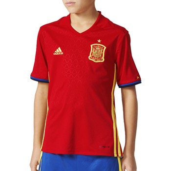Kleidung Jungen T-Shirts adidas Performance FEF Home Jersey Y rot