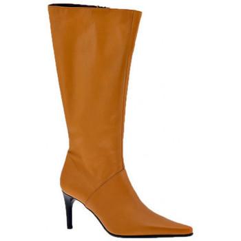 Schuhe Damen Low Boots Fornarina Heel80Sfilatohalbstiefel Beige