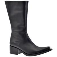 Schuhe Damen Low Boots Fornarina Texas Fonds Leder halbstiefel