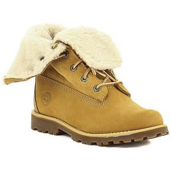 Schuhe Mädchen Boots Timberland C 2236B,A156N Jaune