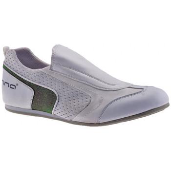 Schuhe Damen Sneaker Low Fornarina Schlüpfenturnschuhe Weiss