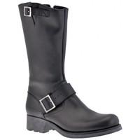 Schuhe Damen Low Boots Fornarina Bikers halbstiefel