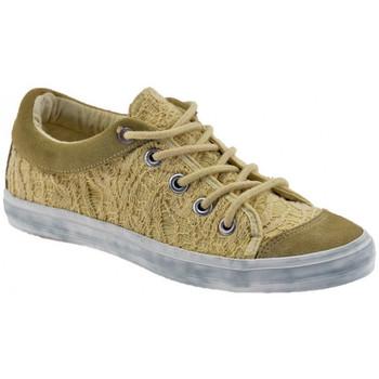 Schuhe Damen Sneaker Low Fornarina SneakLiteturnschuhe Beige