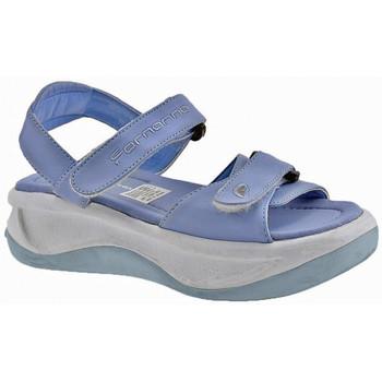 Schuhe Kinder Sandalen / Sandaletten Fornarina WaveVelcroGirlsandale Blau