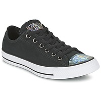 Schuhe Damen Sneaker Low Converse ALL STAR OIL SLICK TOE CAP OX Schwarz
