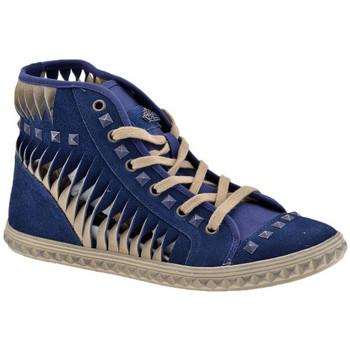 Schuhe Damen Sneaker High Fornarina Mid Lässige Sneaker Bolts sportstiefel