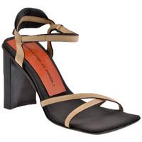 Schuhe Damen Sandalen / Sandaletten Giancarlo Paoli Heel 0084 100 sandale Beige